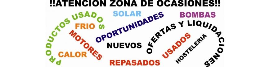 OFERTAS Y ARTICULOS DE OCASION
