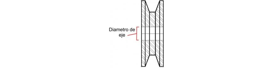 PARA EJE DE 40 MM DIAMETRO